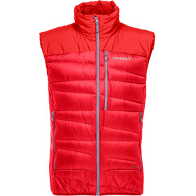 Norrøna Falketind Down Vest Men Crimson Kick